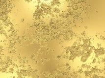 Textura abstracta de la hoja de oro del grunge stock de ilustración