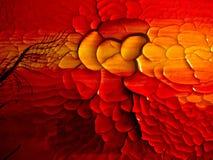 Textura abstracta de la pintura Imagenes de archivo