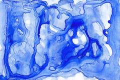 Textura abstracta de la tinta Fondo brillante de la acuarela para sus diseños Arte moderno Foto de archivo