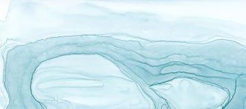 Textura abstracta de la tinta Fondo brillante de la acuarela para sus diseños Arte moderno Imagenes de archivo