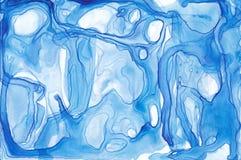 Textura abstracta de la tinta Fondo brillante de la acuarela para sus diseños Arte moderno Fotografía de archivo libre de regalías