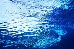 Textura abstracta del agua Fotografía de archivo