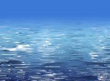 Textura abstracta del agua - ilustración de la playa Fotos de archivo