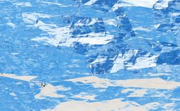 Textura abstracta del color Foto de archivo libre de regalías