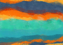 Textura abstracta del creyón de los pasteles Foto de archivo