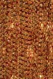 Textura abstracta del cristal de Brown Imagen de archivo