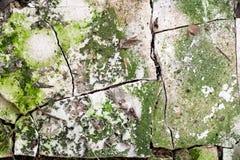 Textura abstracta del decaimiento del edificio Imagen de archivo libre de regalías