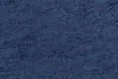 Textura abstracta del fondo de las sombras decorativas del yeso del azul Foto de archivo