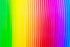 Textura abstracta del fondo del color colorido del arco iris Fotos de archivo