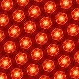 Textura abstracta del fondo - modelo geométrico de Fotos de archivo