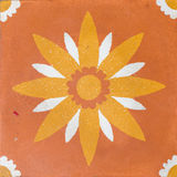 Textura abstracta en la teja Foto de archivo