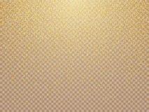 Textura abstracta granosa de la Navidad de oro Ilustración del vector Fondo del invierno con día de fiesta del vector del vintage libre illustration