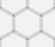 Textura abstracta hexagonal como fondo Foto de archivo