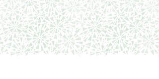 Textura abstracta verde de la materia textil de los triángulos Foto de archivo libre de regalías