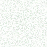 Textura abstracta verde de la materia textil de los triángulos inconsútil Foto de archivo