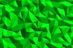 Textura abstracta verde del fondo Fotografía de archivo