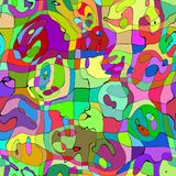 Textura abstrata Imagens de Stock Royalty Free