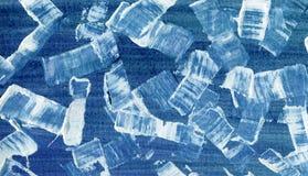 Textura abstrata Art Background da escova de pintura Fotografia de Stock Royalty Free
