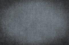 Textura abstrata cinzenta pintada no fundo da lona de arte Fotografia de Stock Royalty Free