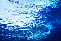 Textura abstrata da água Fotografia de Stock