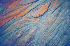 Textura abstrata da areia da cor imagem de stock royalty free