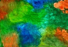 Textura abstrata da cor de água do fundo Imagem de Stock