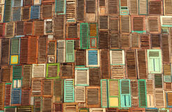 Textura abstrata da madeira do indicador fotos de stock