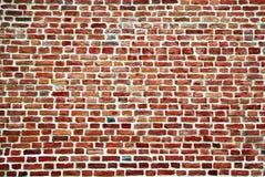 Textura abstrata da parede de tijolo vermelho Foto de Stock Royalty Free