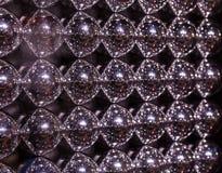 Textura abstrata de bolas do metall Foto de Stock