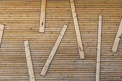 Textura abstrata de madeira Imagens de Stock