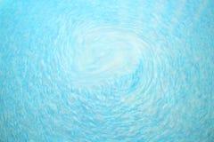 Textura abstrata de ondas azuis Fotos de Stock