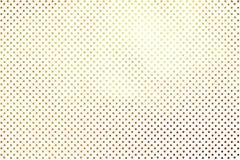 A textura abstrata digital criativa luxuosa Shinning dos às bolinhas dourados modela o fundo Elemento do projeto ilustração stock
