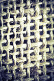 Textura abstrata do algodão azul Fotos de Stock