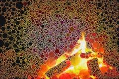 Textura abstrata do fogo do mosaico foto de stock royalty free