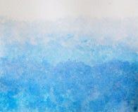 Textura abstrata do fundo da aguarela Fotos de Stock Royalty Free