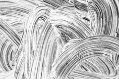 Textura abstrata do fundo da renovação, pintura branca fotografia de stock royalty free