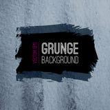A textura abstrata do grunge do vetor com tinta chapinha Fotos de Stock