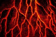 Textura abstrata do magma Fotos de Stock