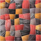 Textura abstrata dos retalhos Fotos de Stock