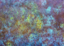 Textura abstrata e colorida do metal Imagens de Stock