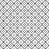 Textura abstrata geométrica sem emenda do fundo do teste padrão do vintage Foto de Stock Royalty Free