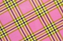 Textura abstrata modelo quadrada com as listras no fundo cor-de-rosa imagem de stock
