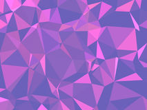 Textura abstrata Uma textura com sombras e um volume coloridos, bonitos, feito com a ajuda de um inclinação e de um fille geométr Imagens de Stock