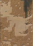 Textura acanalada del grunge Fotografía de archivo