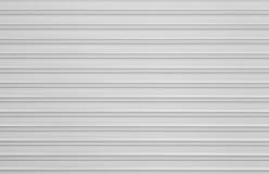 Textura acanalada del metal Fotografía de archivo