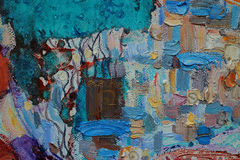 Textura, aceite, pintura, artista, Roman Nogin, fondo - mano-dibujo, fondo - día del ` s de las mujeres, fondo - día del ` s de l stock de ilustración