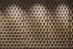 Textura adornada botão da cabeceira Fotografia de Stock