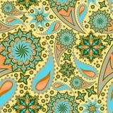 Textura adornada inconsútil Foto de archivo libre de regalías