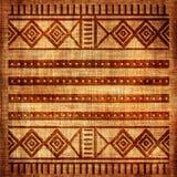 Textura africana Fotografia de Stock