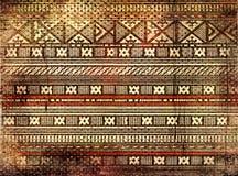 Textura africana Fotos de Stock Royalty Free